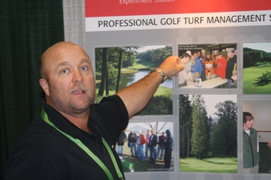 Golf Course Superintendent and 2004 Rutgers Turf Management School Graduate Daniel Warne