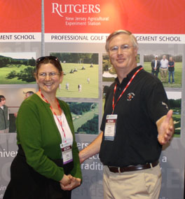 Echo Lake Country Club Superintendent Chris Carson at the 2010 GCSAA Convention